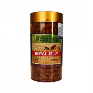 Sữa Ong Chúa Làm Đẹp Da Và Duy Trì Sức Khỏe 1000mg Lifespring Royal Jelly (360 viên) – LS32