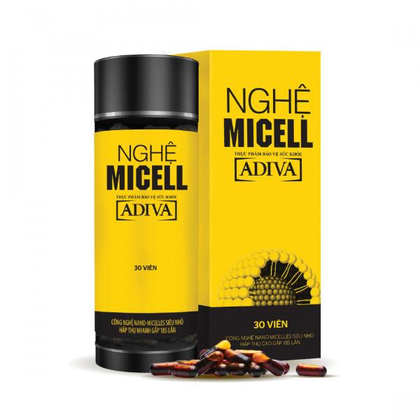 Nghệ Micell ADIVA (30 viên/Hộp)