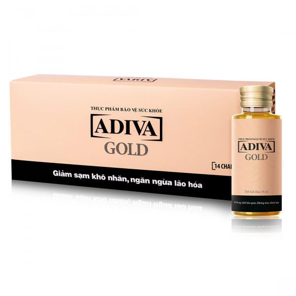 Thực Phẩm Bảo Vệ Sức Khỏe ADIVA GOLD (Hộp 14 Chai 30ml )