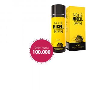 1 Nghệ Micell ADIVA (30 viên/Hộp) Giảm Ngay 100.000đ Còn 390.000đ